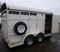 Where to rent HORSE TRAILER-FABFORM-WHITE EB in Boring OR