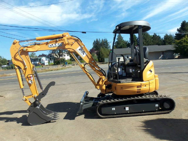 Where to rent EXCAVATOR, CASE CX55B in Sandy OR, Boring Oregon, Damascus, Estacada, Mt. Hood, & Clackamas OR