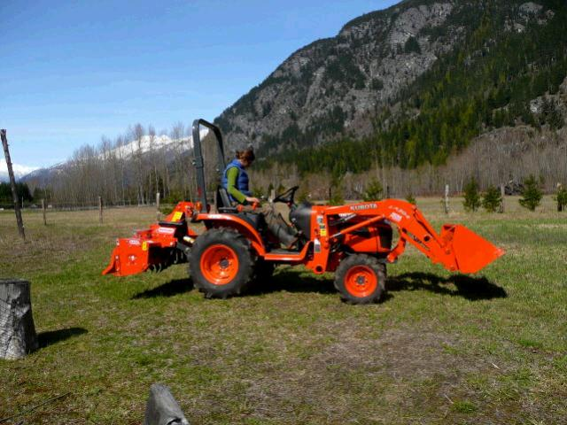 Where to rent B2601-2 TRACTOR W BKT   TILLER in Sandy OR, Boring Oregon, Damascus, Estacada, Mt. Hood, & Clackamas OR