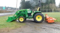 Where to rent JD 3033R W BUCKET   TILLER in Boring OR