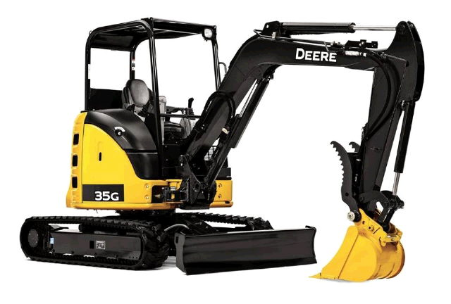 Where to find EXCAVATOR, DEERE 35G-5 in Boring